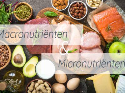 macronutriËnten en micronutriënten