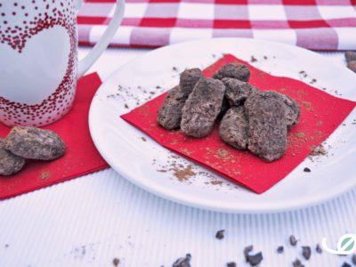 Keto chocolade boter truffels