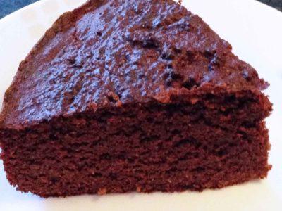 Keto chocolade cake